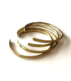 Stacking Brass Bangles - Nawa Philippines