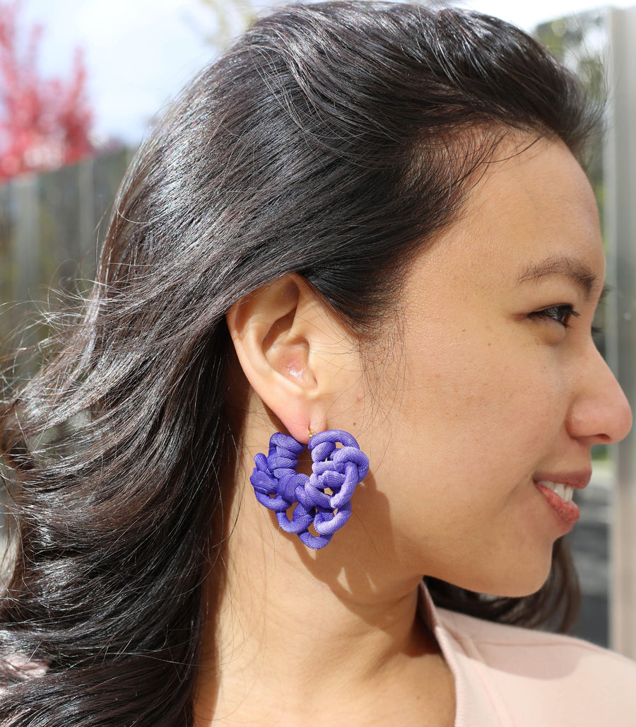 Philippa Earrings - Indigo - PIESA