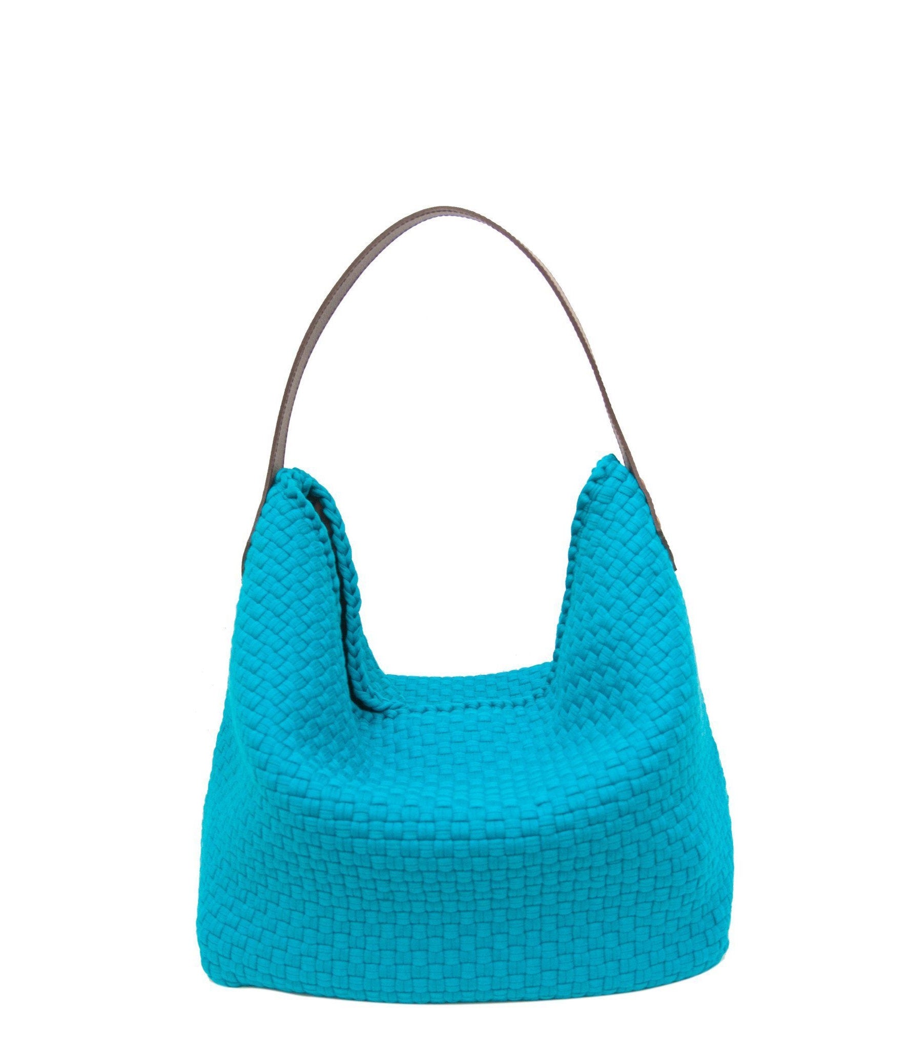 Buslo Hobo Bag in Turquoise - Rags2Riches