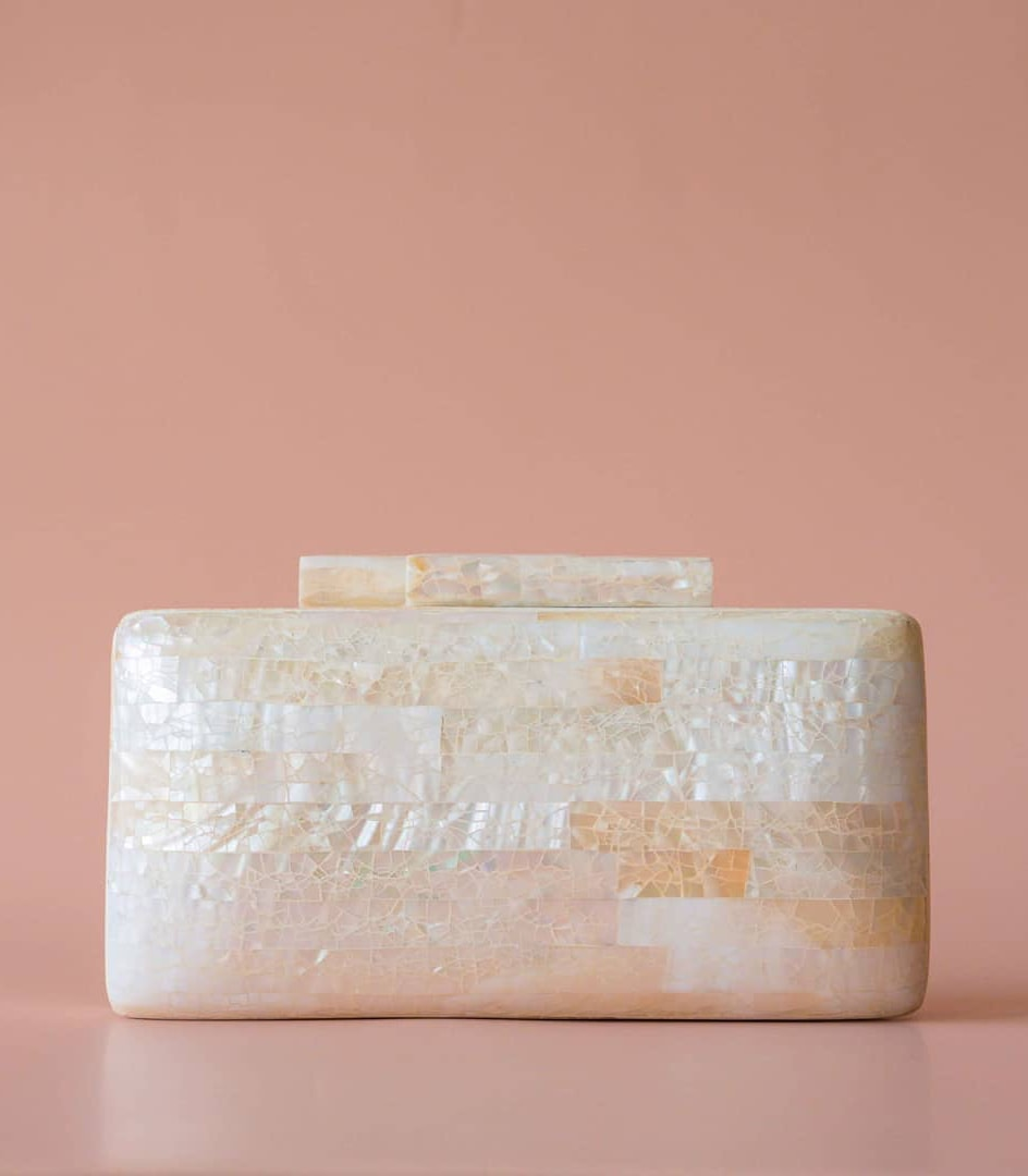Regina Shell Clutch - Island Girl