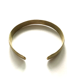 Thicc Brass Bangle from NAWA