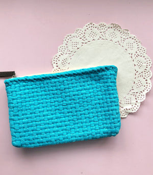 Vanna Organizer in small turquoise - Rags2Riches
