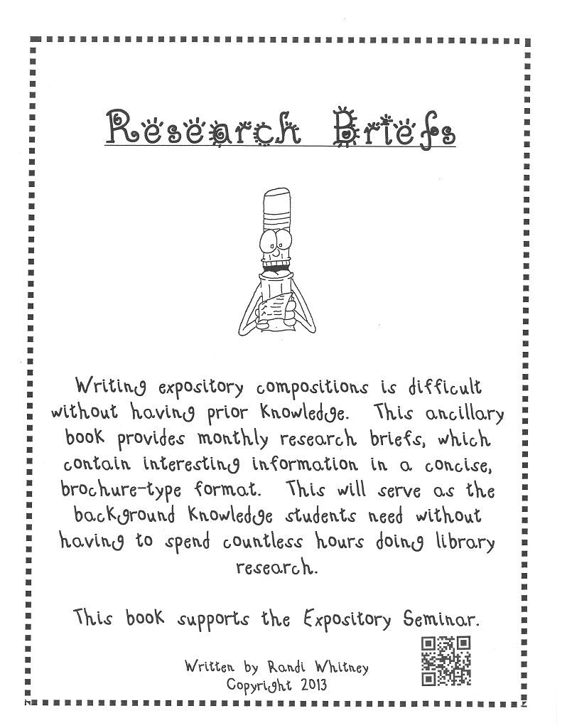 Research Briefs