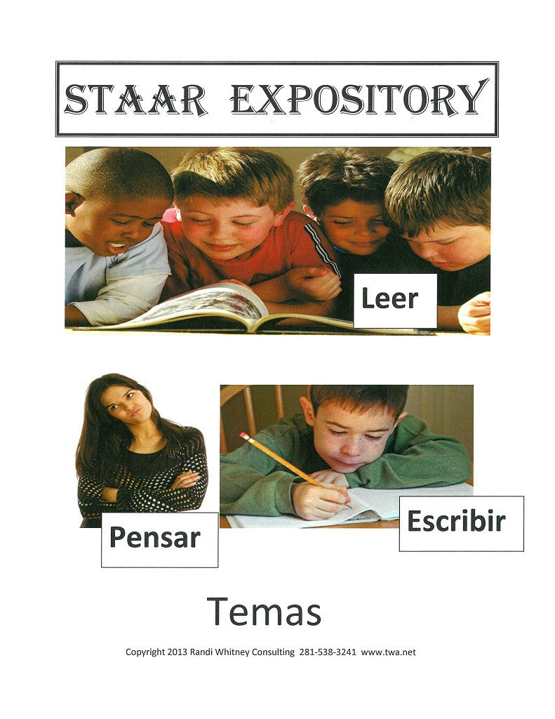 Spanish Expository Prompts