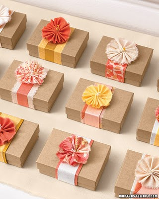 Flower Blossom Fabric Boxes