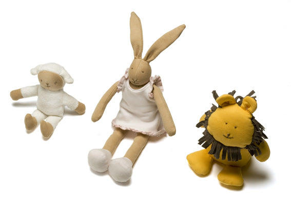 organic cotton soft dolls and plush toys
