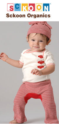 Sckoon organic baby clothes