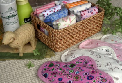 Cloth pads from Sckoon