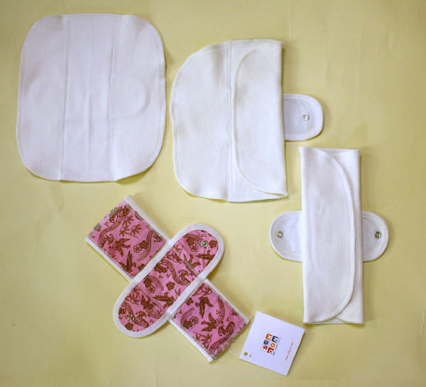 Organic multi cloth panty-liner