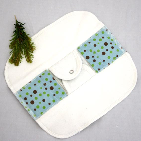Organic cloth panty-liner pads