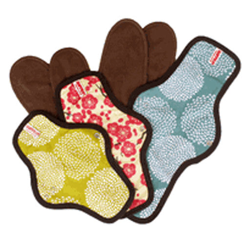 Organic Cotton Cloth Menstrual Pad Set: 2 Snap-on + 1 Maxi Pad Special Price $49.99 Set - SckoonCup