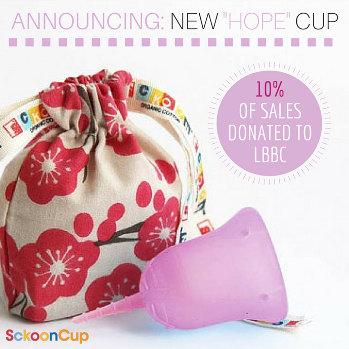 SckoonCup BEGINNER CHOICE - Made in the USA - FDA Approved - Organic Cotton Pouch - Menstrual Cup -