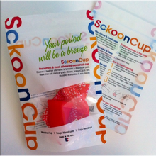 SckoonCup BEGINNER's CHOICE Menstrual Cup, Made in USA FDA Approved, Organic Cotton Pouch - Balance - SckoonCup