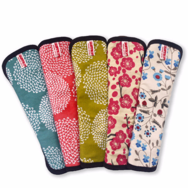 Organic Cotton Cloth Menstrual Pad Set: 5 Snap-on Pads $84.95 --> Special Price $78.80 Set Price - SckoonCup