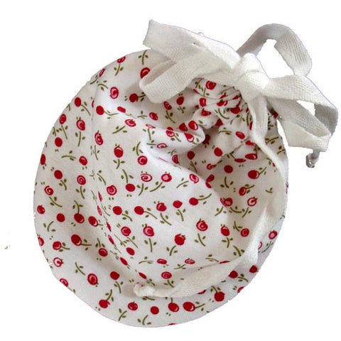 Leak-proof Carry Pouch for Organic Cloth Menstrual Pads (Cherry)