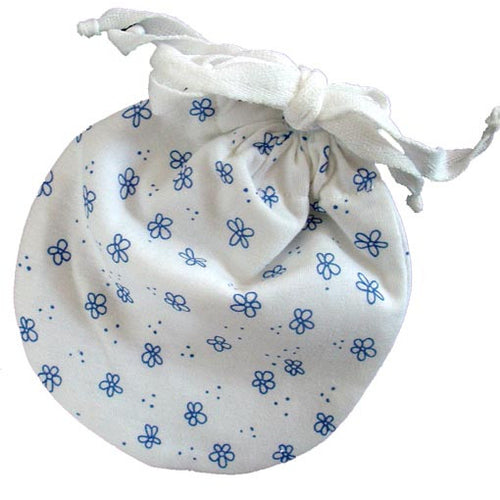 Leak-proof Carry Pouch for Organic Cloth Menstrual Pads (Jasmine) - SckoonCup