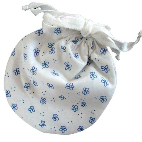Leak-proof Carry Pouch for Organic Cloth Menstrual Pads (Jasmine)