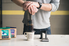 How To Brew: Aeropress Coffee