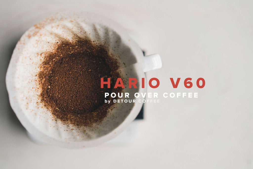 Hario v60 pourover by Detour Coffee
