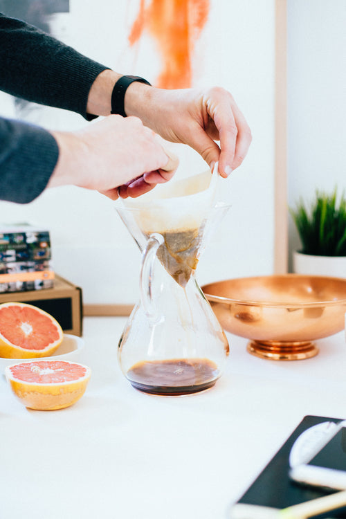 Chemex with Glass Handle - 6 Cup Image 4