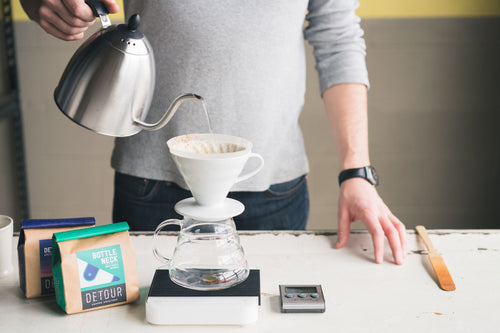 Hario V60 White Ceramic Dripper - 02 Image 3