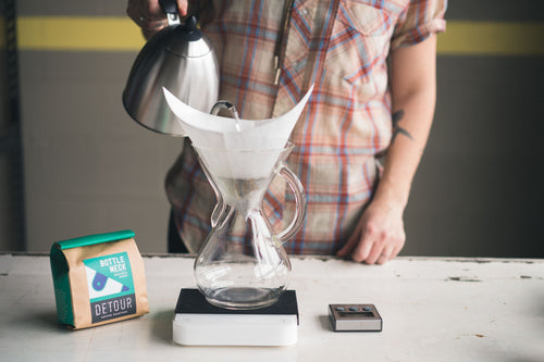 Chemex with Glass Handle - 6 Cup Image 2