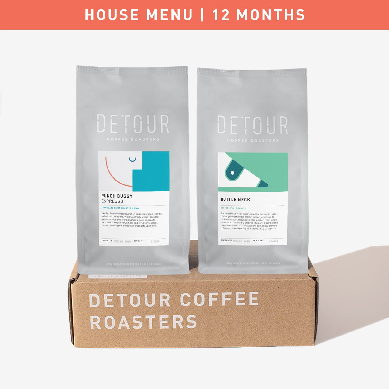 Gift Subscription | 12 Month | House Coffee