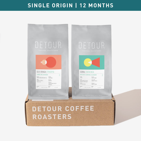 Gift Subscription | 12 Month | Single Origin