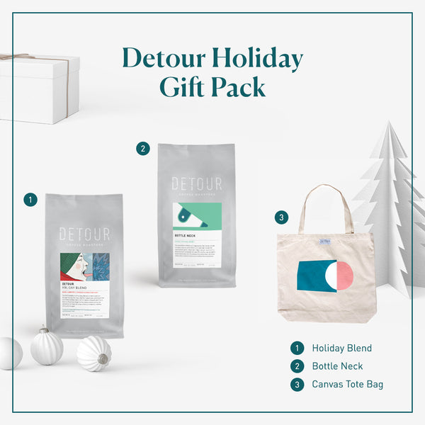 Holiday Gift Coffee & Tote