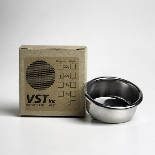 Ridgeless VST Basket - 20g - EQUIPMENT, Detour Coffee Roasters