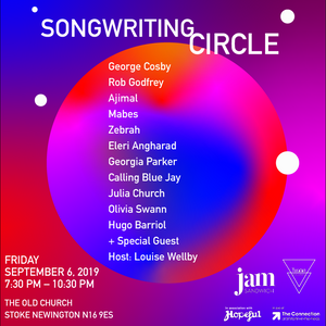 Songwriting Circle in aid of The Connection at St Martins