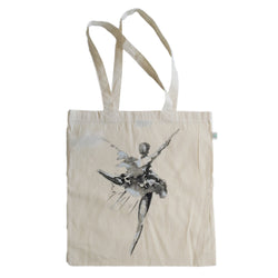 Naomi's Dancer Organic Cotton Bag Natural
