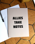 Allies Take Notes A5 Recycled Notebooks (pack of 3)