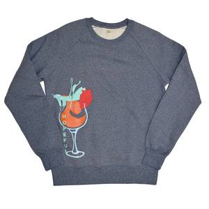 Brandon's Cocktail Organic Sweat // Blue Twist