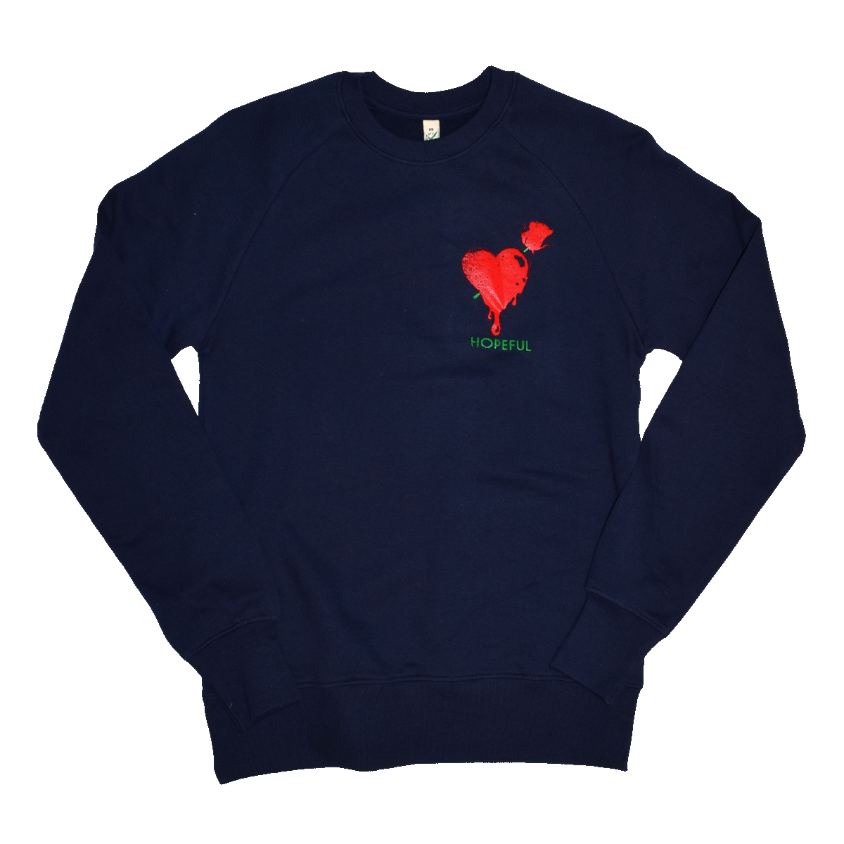 Brandon's Heart Organic Sweat // Navy