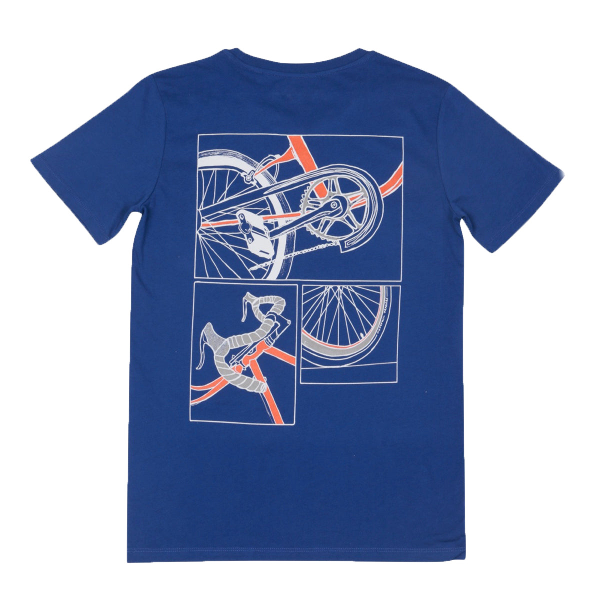 David's Bike Organic Tee // Royal