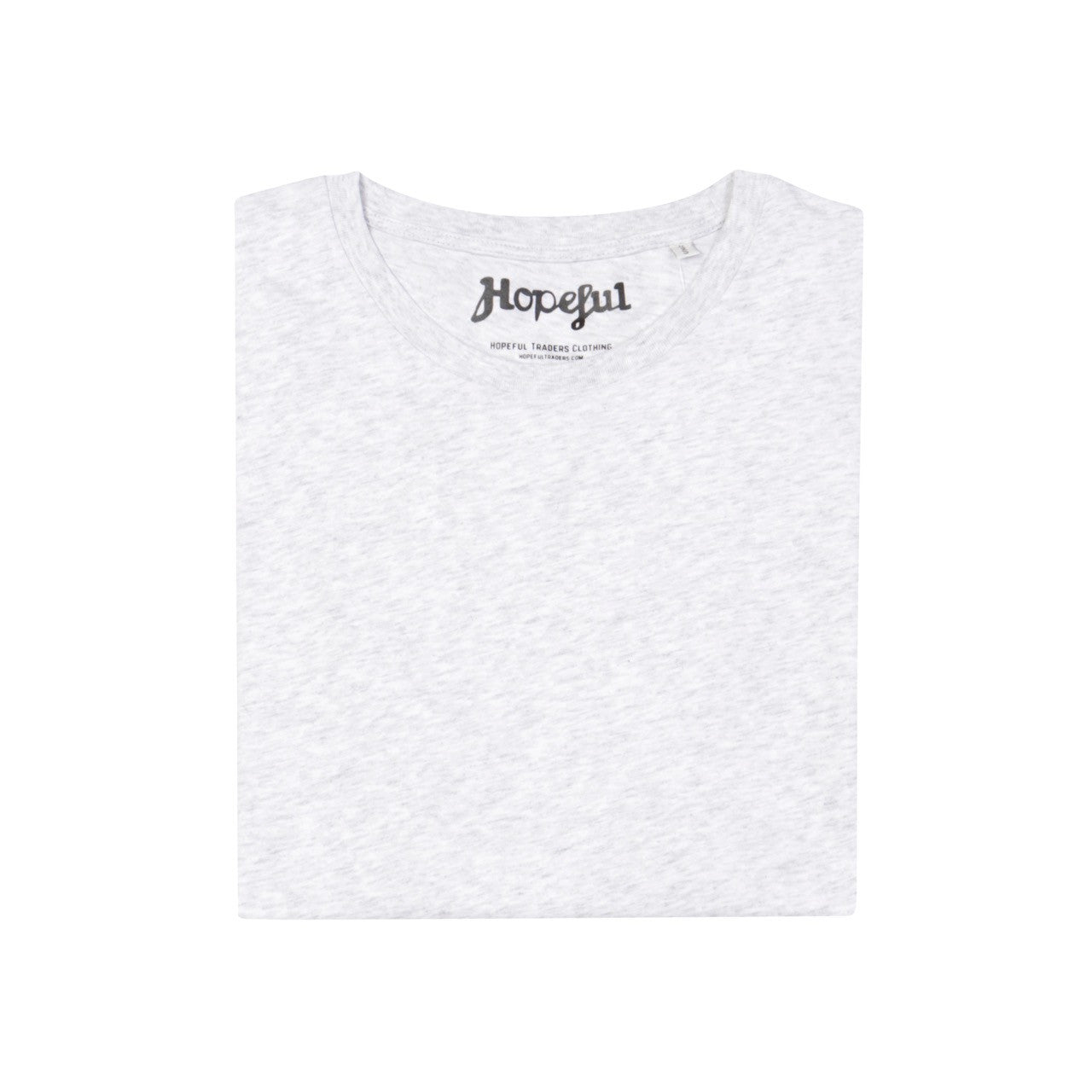 Hopeful Organic Tee // Ash