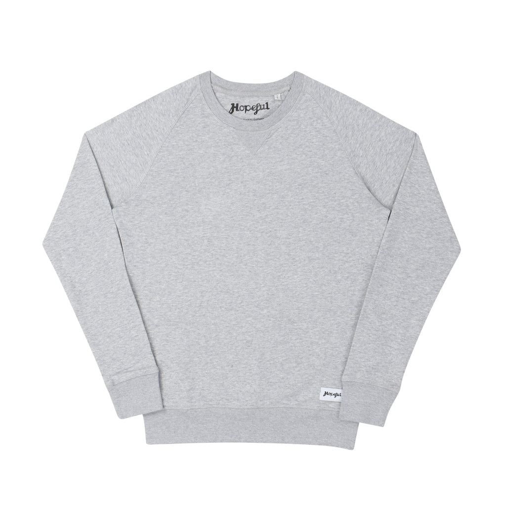 Hopeful Organic Sweat // Grey