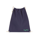 Hopeful x Homeless Fonts Organic Light Bag // Mint