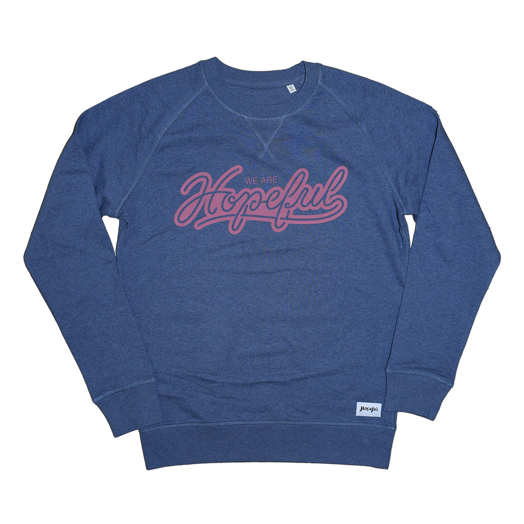 We Are Hopeful Organic Sweat // Deep Blue