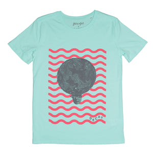 Decay Organic Tee // Cool Blue