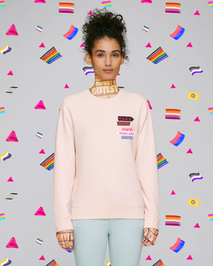 Make Space for Homeless Queers Organic and Recycled Sweatshirt