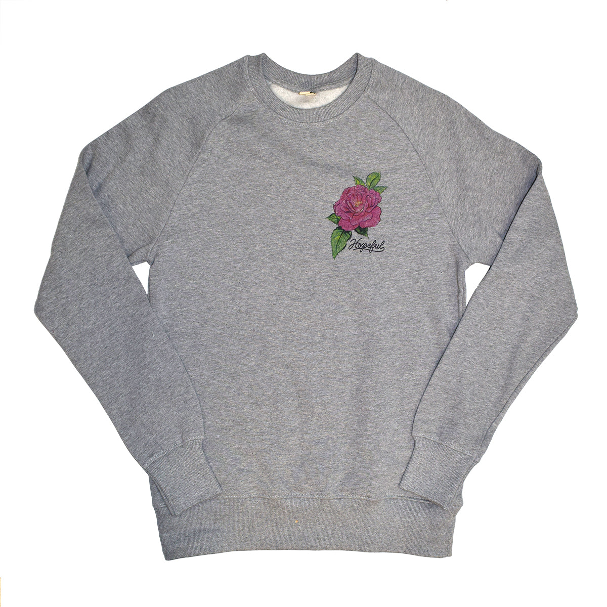 Naomi's Rose Organic Sweatshirt // Grey