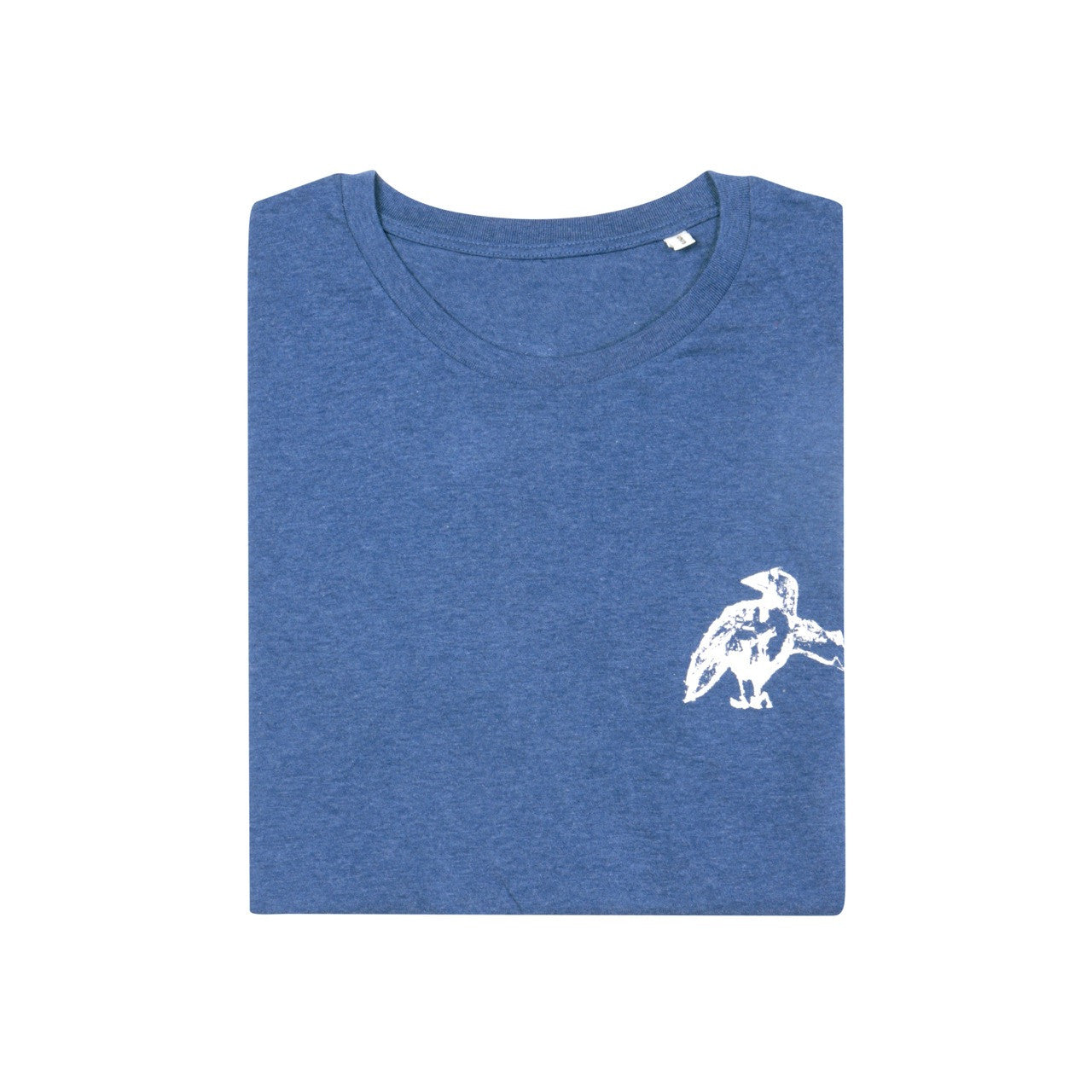 Zin's Encouragement Organic Tee // Deep Blue