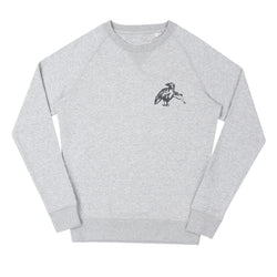 Zin's Encouragement Organic Sweat // Grey