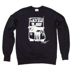 David's Bus Organic Sweatshirt Black