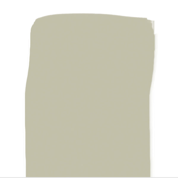 This color, neutral in hue and value, has a wide range of uses in transition spaces.