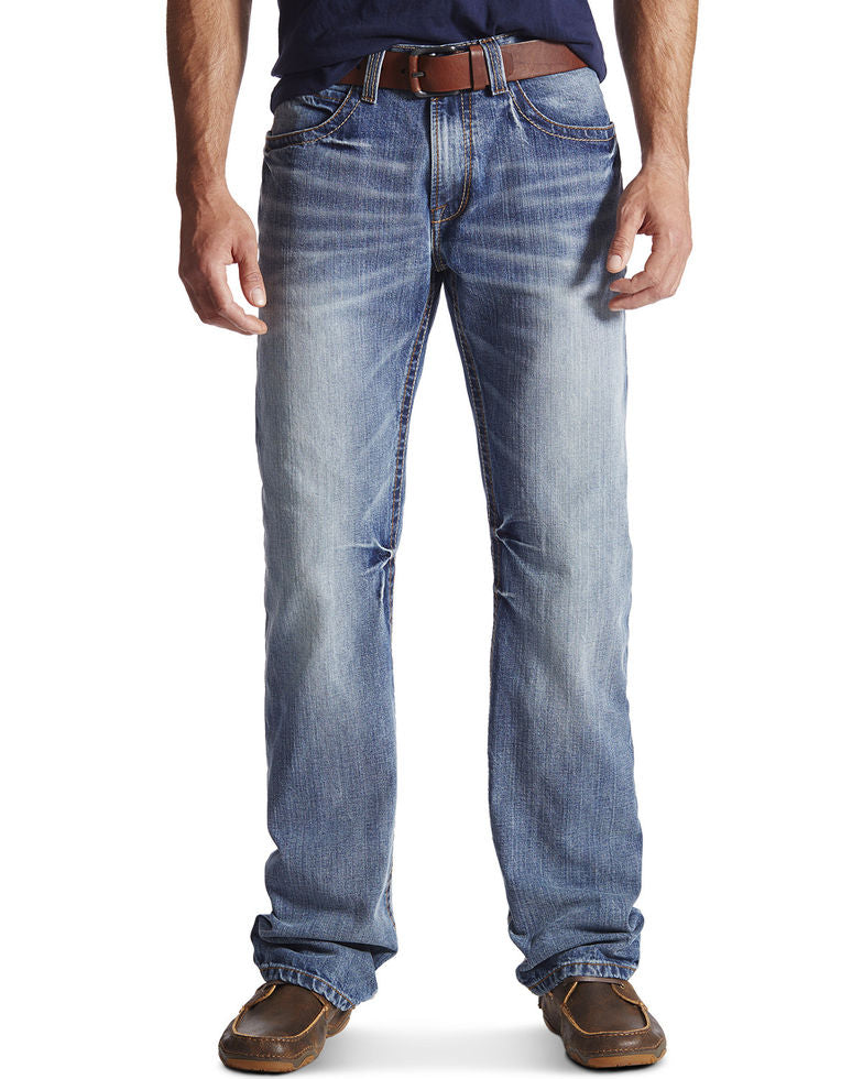 Ariat Men's M4 Coltrane Durango Low Rise Fashion Boot Cut Jean