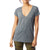 Alternative Apparel Women's Slinky Jersey V-Neck T-Shirt - Ash Heather