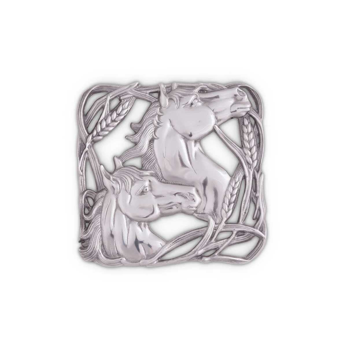 Vagabond House Horse with Wheat Trivet